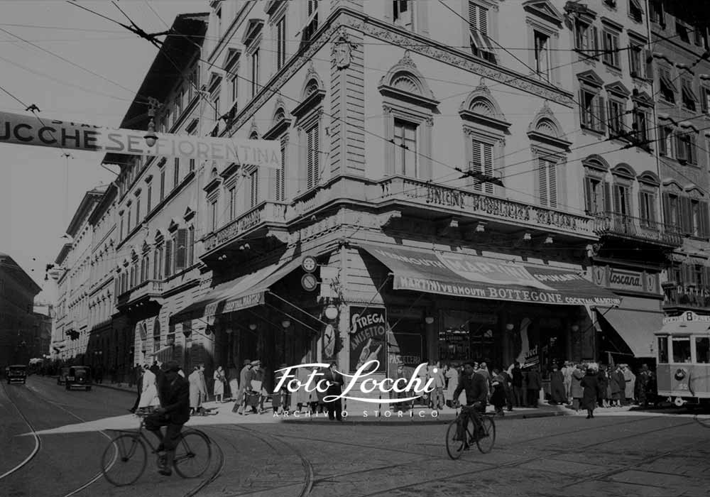 IN THE HEART OF FLORENCE SINCE 1793