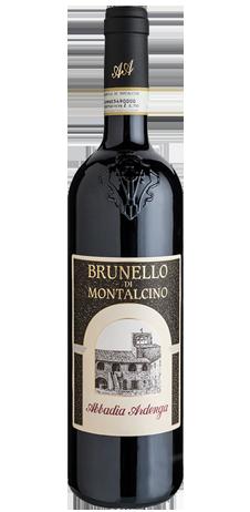 Bottiglia di Brunello di Montalcino per carta dei vini piccola