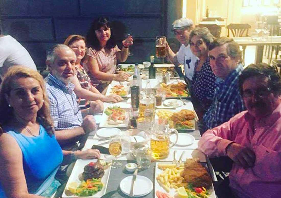 Ospiti a cena estate 2018